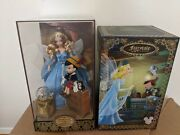 Disney Store D23 2017 Pinocchio Blue Fairy Limited Edition Doll New 092/1023