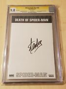 Ultimate Spider-man 160 Cgc Ss 9.8 Rare Large Center Signature By Stan Lee
