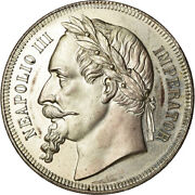 [489290] Coin France Napoleon Iii Module Finis Germaniae 5 Francs 1870 Ms