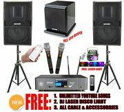 Youtube Unlimited Songs Professional 3000w Karaoke System Iphone/ipad And Tablet