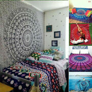 15 Pc Wholesale Lot Indian Mandala Tapestry Wall Hanging Decor Twin Bedspread