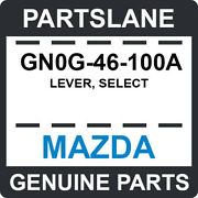 Gn0g-46-100a Mazda Oem Genuine Lever Select