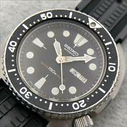 Seiko 6306-7001 Day Date Divers Automatic Mens Watch Authentic Working