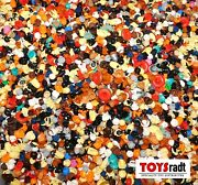 100 X Lego Minifigure Hair And Hats Assortment All New Pieces
