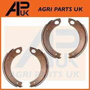 4x Brake Shoes With Linings L And R For Ford 2000 2600 2610 3000 3600 3610 Tractor