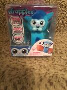 Wrapples Little Live Pets Interactive Furry Friends Skyo Blue New