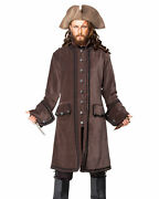 Men's Calico Jack Coat, High Quality Hand Crafted, One By One, Cool