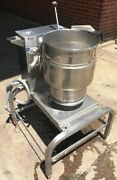 Groen Used Table Top Hand Tilt 20 Quart Capacity With Stand Electric Item 8763