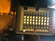 Vintage Burroughs Adding Machine With Stand