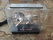 Vintage Collectible Budweiser Clydesdale Horse Light Up Sign By Anheuser Busch