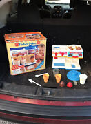 Wow Vintage Fisher Price Mcdonalds Soda And Ice Cream Fountain With Box