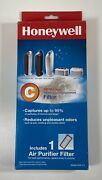One Honeywell Hepaclean C Air Purifier Replacement Filter Model Hrf-c1