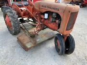 Belton Belly Mower Complete / Brackets Belt And Hand Lift Allis Chalmers C Tractor