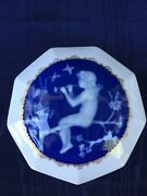 Camille Tharaud Dresser Jewelry Trinket Box Pate-sur-pate Limoges Porcelain Exc