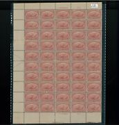 1898 United States Postage Stamp 286 Plate No. 673 Mint Full Sheet
