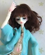1/6 Bjd Doll Girl Zora Resin Unpainted Doll + Free Eyes Without Any Makeup