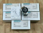 Lot Of 5 Siemens 2 Position Keyed Selector Switch 3sb35 00-4bd01 / Series A