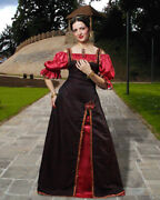 Womenand039s Medieval Princess Dress High Quality Hand Crafted One By One Cool