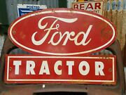 Ford Tractor Dealer's Sign