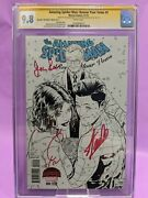 Amazing Spider-man Renew Your Vows 5 Cgc 9.8 Ss Stan Lee, Joanie Lee And Quesada