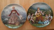 Knowles 8-1/2 Collector Plates 1 And 2 Do-re-mi And Sound Of Music