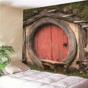 Round With Primitive Flavor3d Wall Hang Cloth Tapestry Fabric Decorations Decor