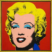 Framed Andy Warhol Marilyn Monroe Giclee Canvas Print Paintings Poster