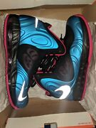 Nike Air Max Hyperposite 2012 Dynamic Blue Reflective Silver Fireberry Size 10