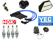 Oem Tune Up Kit For Accord Ex 2.2 V-tecfilters Pcv Cap Rotors Wires Plugs 94-97