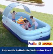 10' X 30 Large Family Inflatable Swimming Pools Above Ground For Kids Outdoor