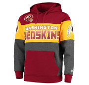Washington Redskins Team Pullover Hoodie - Burgundy/charcoal Menand039s Size Large