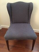 Antique Wingback Dining Chairs