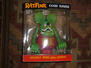 Funko New In Box Rat Fink Coin Bank 12 Tall Figure