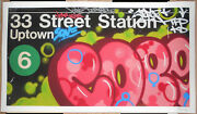 Cope2 33rd Street Station Giclee Print 1/100 Signed Poster New York City Subway