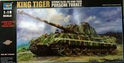 Only 1 Listed- Trumpeter 1/16 King Tiger Porsche Turret 00907
