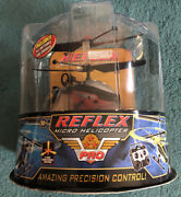 2006 Air Hogs Reflex R/c Pro Red Micro Helicopter Htf Rare 44164 New
