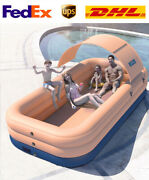 10' X 30 Large Family Auto Inflatable Swimming Pools Above Ground Kids Outdoor