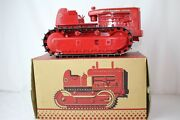 1950and039s Product Miniature International Td-24 Tractor On Treads With Original Box