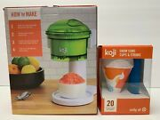 Koji Snow Cone Maker With 1 Set Of Snow Cone Cups And Straws Parties Meetings