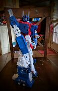 Custom Transformers - Custom Built And Painted Ultra Magnus At 16inches
