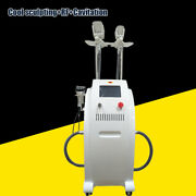 Cool Tech Cellulite Reduction Cryo Body Slimming Fat Freezing Beauty Machine