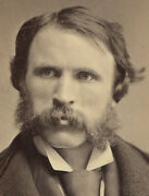 Handsome Man, Theatrical. Cabinet Card. N.y.