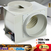 Centrifugal Extractor Fan Blower Pp250 For Lab Fume Hood Chemical Cabinets New