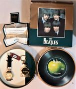 Beatles Gold Limited Edition Fossil Watch With Collector Tin Li-1608 105/1000