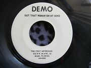 The First Impression On Demo - Rare Northern Soul Funk Holy Grail - Listen