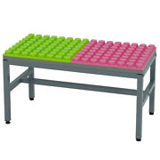 Uniplay Soft Building Blocks Table Building Base And Play Station