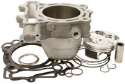 Hi-comp Cylinder And Piston Kit For 2013-2015 Suzuki Rm-z 250 77mm Standard Bore