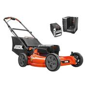 Echo Push Lawn Mower 21 In. 58-volt Lithium-ion Brushless 4.0 Ah Battery/charger
