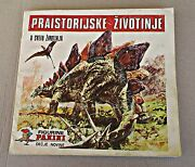Prehistoric Animals - Panini - Complete Album With All Stickers In It