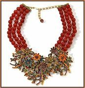 Signed Heidi Daus Breathless Crystal Necklace Beyond Beautiful Sold Out Pc Wow